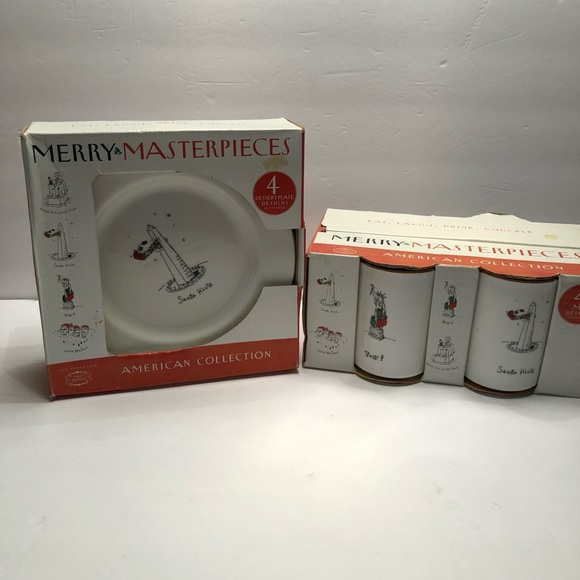 Merry Masterpieces Other - Brand New Merry Masterpieces Dish Set